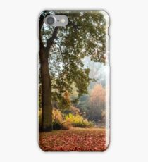 Autumn by the east lake. iPhone Case/Skin