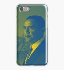 Abstract Portrait of President Barack Obama 35 iPhone Case/Skin