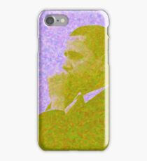 Abstract Portrait of President Barack Obama 30x30 16 iPhone Case/Skin