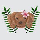 Tropical Puppy by Prettyinpinks