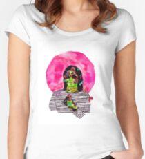 Magical Mushroom Kurt Women's Fitted Scoop T-Shirt