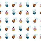 cup cake Muster von rauschsinnig