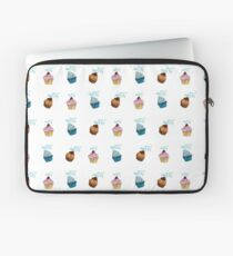cup cake Muster Laptoptasche
