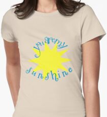 You are my Sunshine Circle Quote T-Shirt