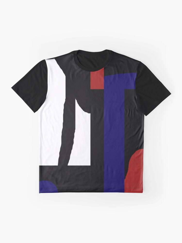 Alternative Ansicht von Colours love black Grafik T-Shirt