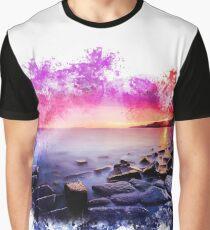 Lake Painting Graphic T-Shirt