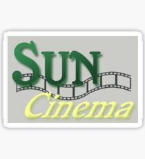 Sun Cinema Sticker