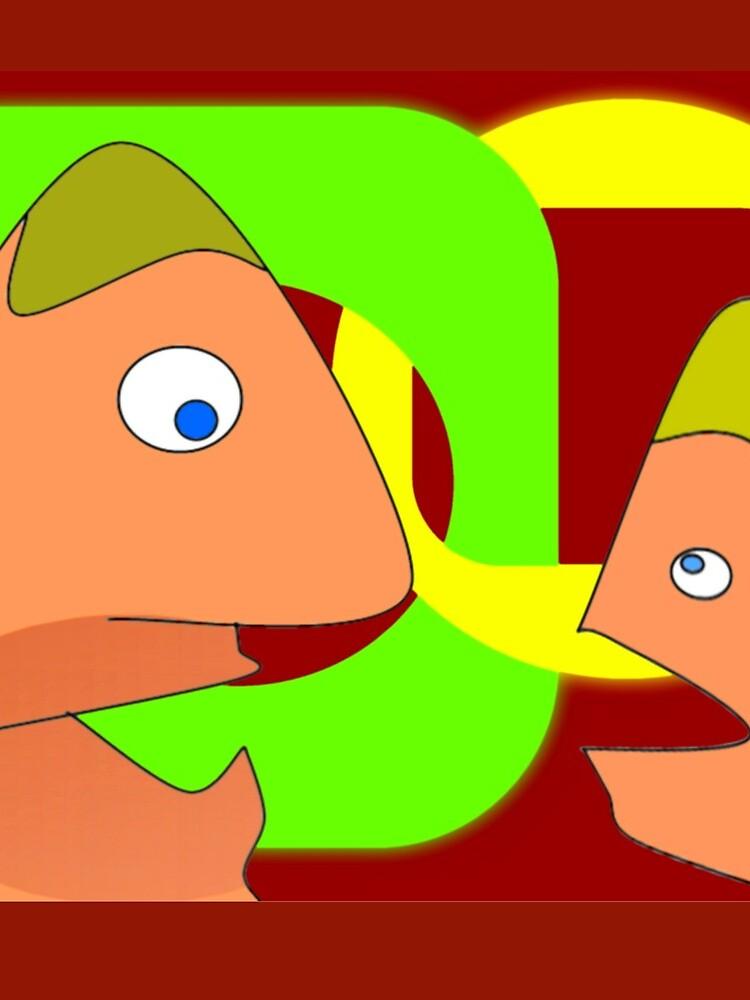 Senior & junior - speaking about friendship ... von Harryucksche