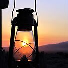 Sunrise In the Lamp by © Loree McComb