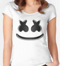 Marshmello - Helmet  Women's Fitted Scoop T-Shirt