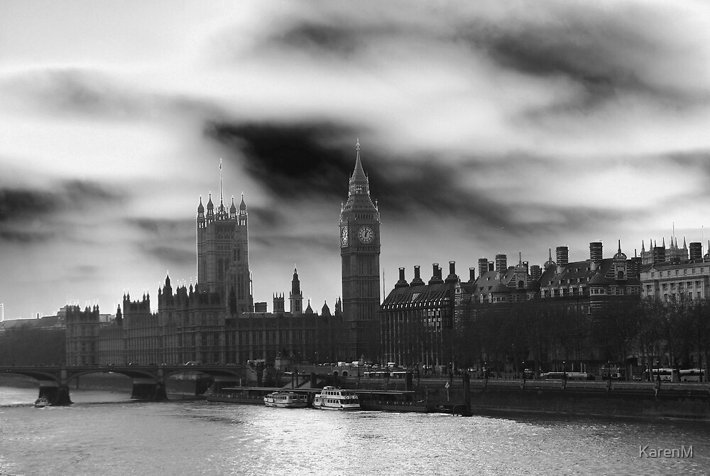Westminster BW by KarenM