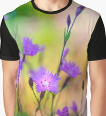 Lounging with th Dianthus Graphic T-Shirt