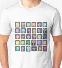 Palmeras Cuadros Color Unisex T-Shirt