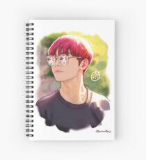 Erdbeer-Tae Spiralblock