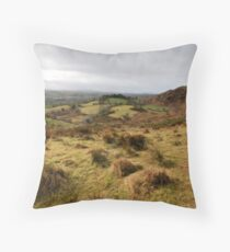 The rolling hills of Bantry Throw Pillow