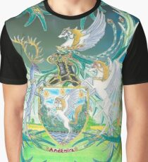Andemira Journey Coat of Arms Graphic T-Shirt