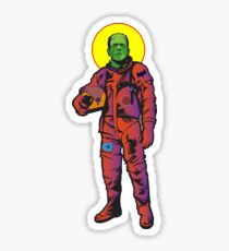 Frankie Goes to The Moon Sticker