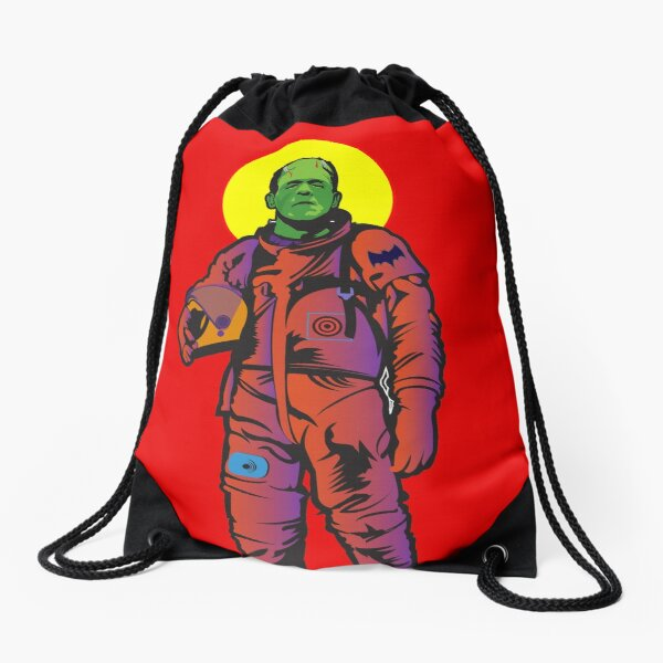 Frankie Goes to The Moon Drawstring Bag