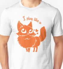 Play like a fox Unisex T-Shirt