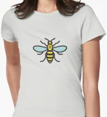 Manchester Bee Women's Fitted T-Shirt