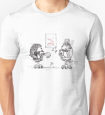 Meanwhile At The Office... Unisex T-Shirt