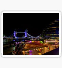London Nights Sticker