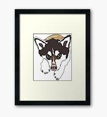 Alaskan Klee Kai Dog Framed Print