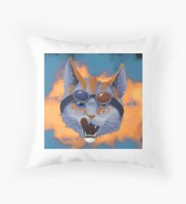 Caticulated - Design #1 Throw Pillow