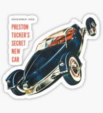 Preston Tucker's Secret New Car Sticker