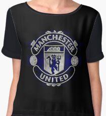 manchester united best logo Women's Chiffon Top