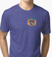 Caticulated - Design #2 Tri-blend T-Shirt