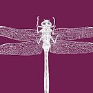 Dragonfly (Purple) by MissElaineous Designs