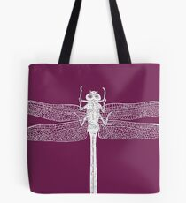 Dragonfly (Purple) Tote Bag