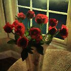 Scarlet for a Stormy Night by RC deWinter