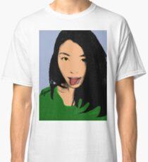 FUNNY GIRL - GREEN Classic T-Shirt