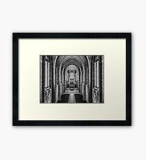 Trinity 4 Framed Print