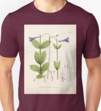 Nova genera et species plantarum V1 V3 Plates Karl Friedrich Philipp von Martius 1834 175 Unisex T-Shirt