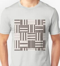 Seamless colorful pattern with stripes Unisex T-Shirt