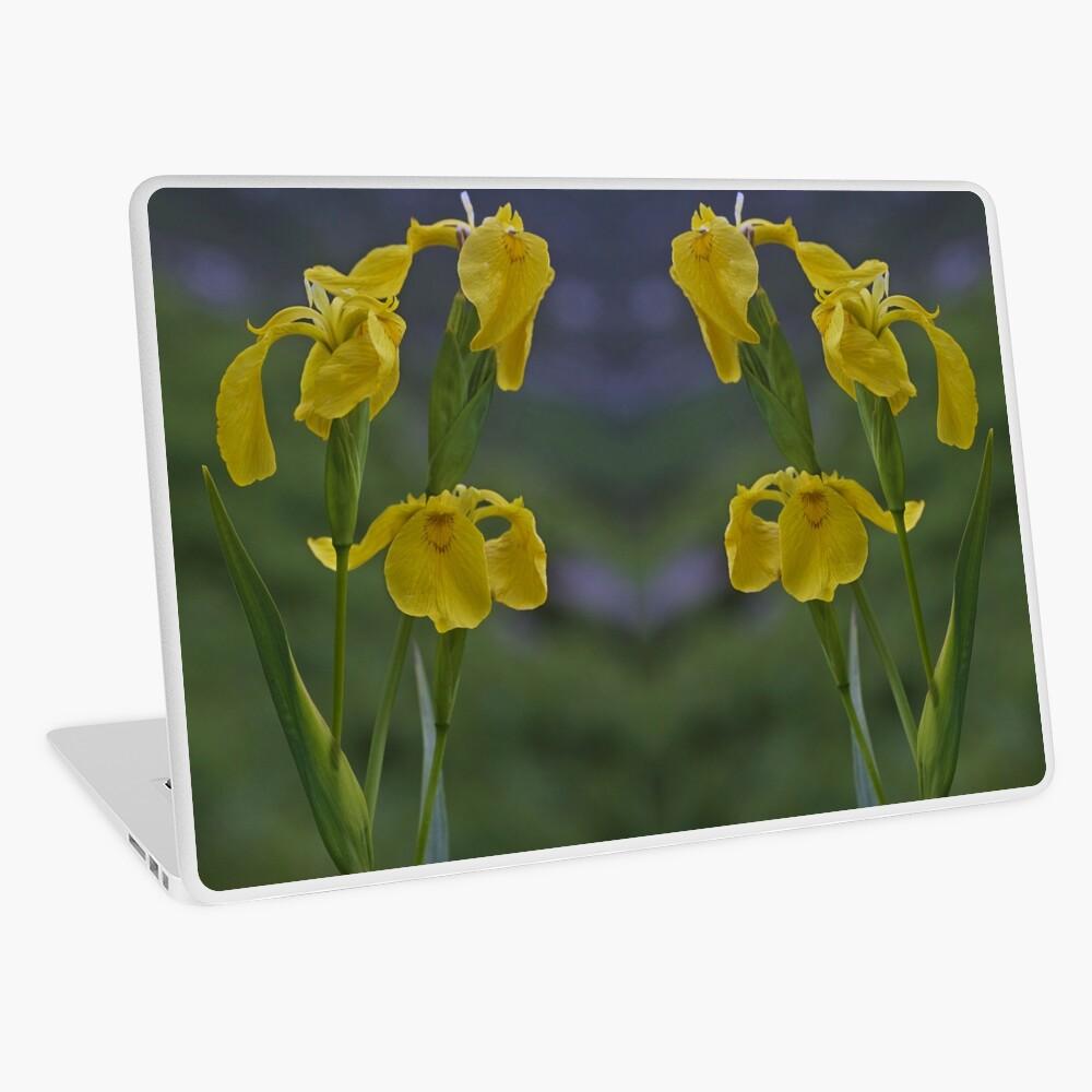 Yellow Flag Iris - Donegal Laptop Skin