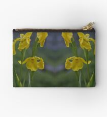 Yellow Flag Iris - Donegal Studio Pouch