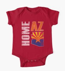 Home Arizona State Flag One Piece - Short Sleeve