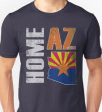 Home Arizona State Flag Unisex T-Shirt