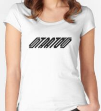 Lancia Stratos (black) Women's Fitted Scoop T-Shirt