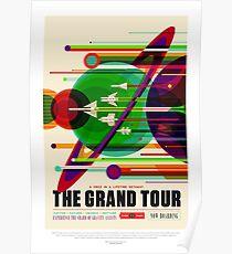 NASA Space Tourism Posters: Grand Tour Poster
