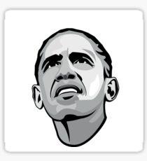 Obama Hope Black and White Sticker
