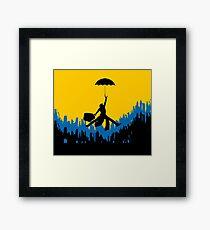 Mr. POPPINS JUMP Framed Print