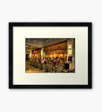 Cafe Closed Framed Print