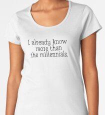Millennials  Women's Premium T-Shirt