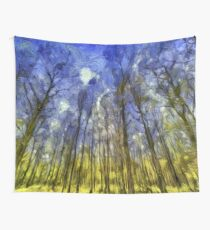 Vincent Van Gogh Forest Art Wall Tapestry