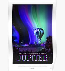 NASA Space Tourism Posters: Jupiter Poster